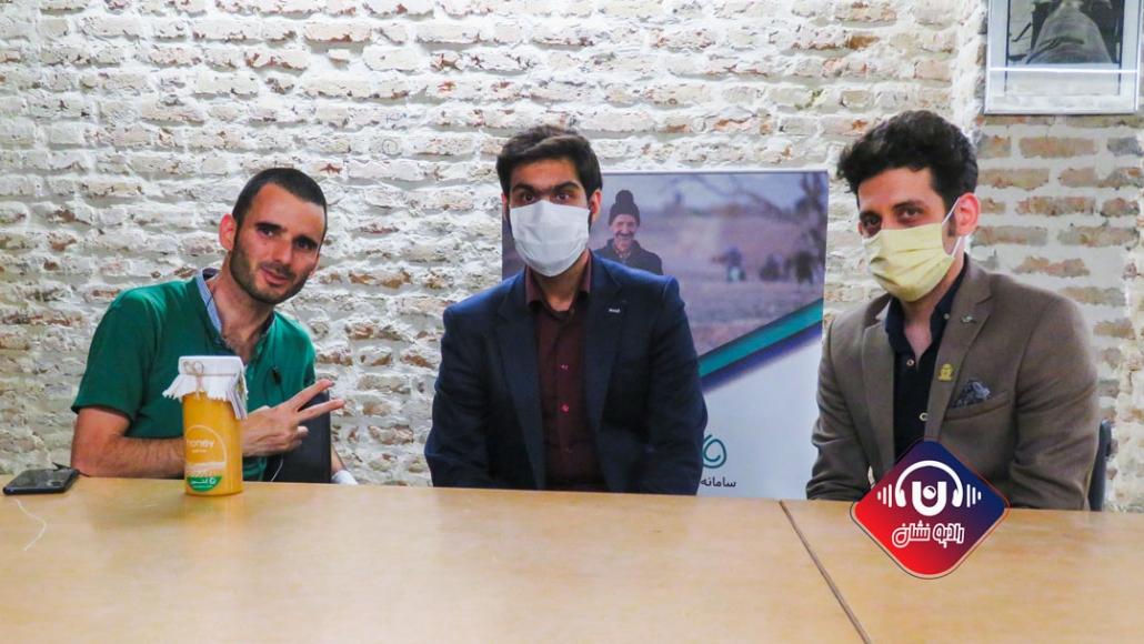 قسمت سوم رادیو نشان با محمد قائم پناه موسس و مدیرعامل کشمون